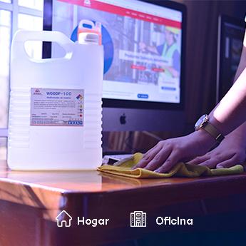 productos químicos de limpieza e higiene